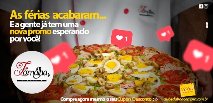 Rodízio de Pizzas com Diversos Sabores na Fornalha! - Pizzaria Fornalha