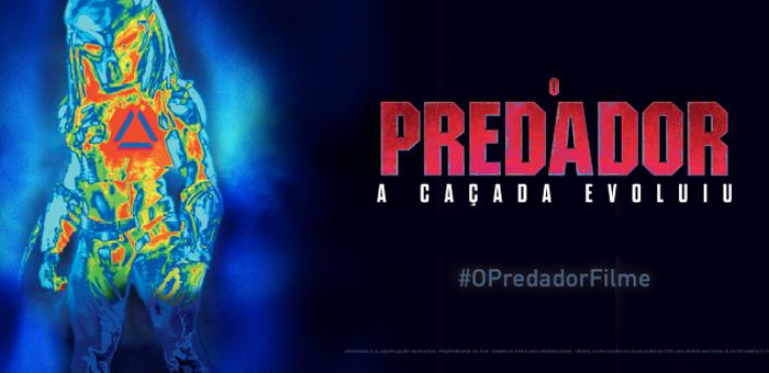 Ingresso para o Filme O Predador A Caçada Evoluiu 3D - Cine Max 3D