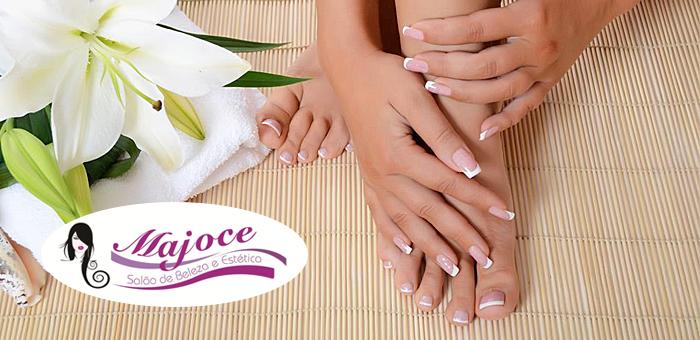 Manicure + Pedicure na Majoce Salão de Beleza e Estética - Majoce Salão de Beleza e Estética
