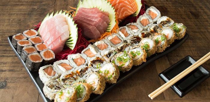 Combinado Japonês de 52 Peças no Restaurante Schung-King! - Restaurante Schung-King