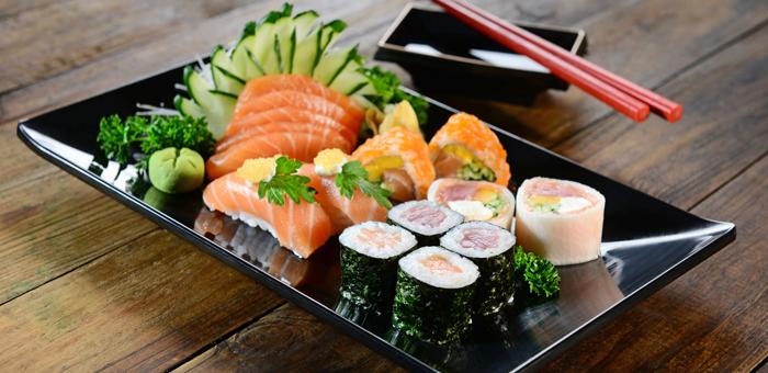 Combinado Japonês de 12 Peças no Restaurante Schung-King! - Restaurante Schung-King