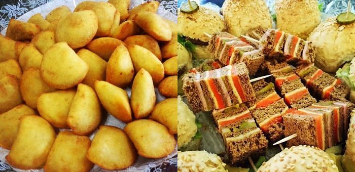 50 Deliciosos Salgados Premium Sortidos no Café Preto - Café Preto