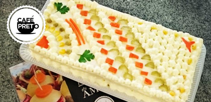 Torta Fria de Frango e Palmito! - Café Preto