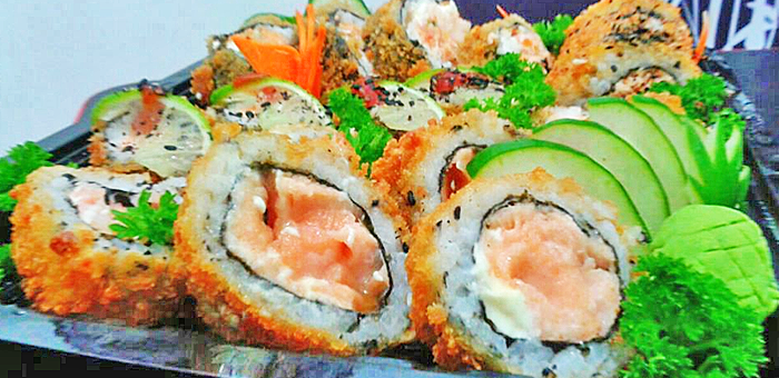 Combinado HotRolls 18 Peças - Mizuki Sushi Delivery
