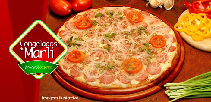Pizzas Especiais 480g (30cm) Congeladas Prontas - Congelados da Marli