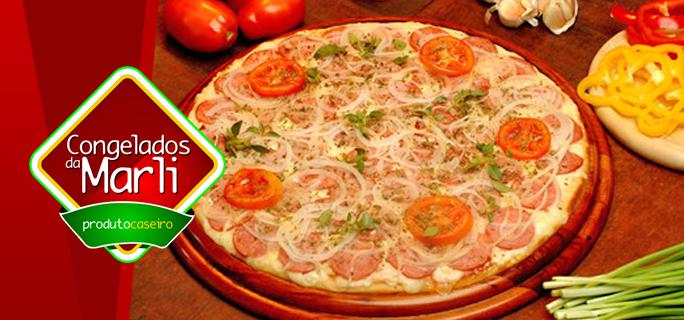 Pizzas Especiais Congeladas (480g) na Congelados da Marli! - Congelados da Marli