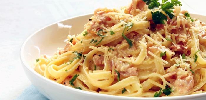 Espaghetti à Carbonara - Aquarius Gourmet
