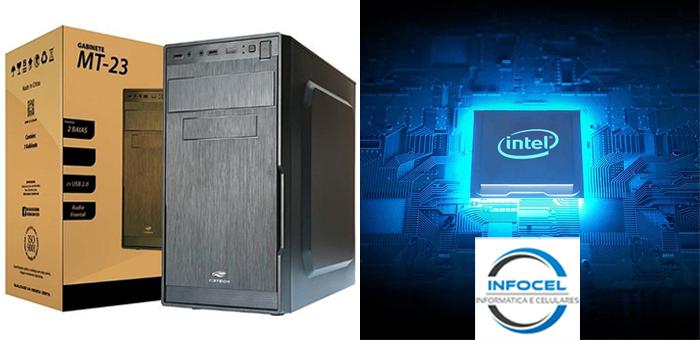 CPU Core I3 com 4GB e HD de 500GB em Promoção na InfoCel! - InfoCel - Assistência Técnica