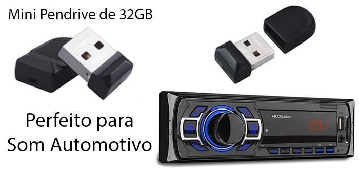 Mini Pen Drive de 32GB na InfoCel! - InfoCel - Assistência Técnica