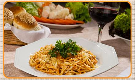 Jantar para Duas Pessoas no La Pasta - Restaurante La Pasta