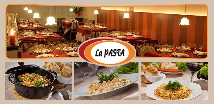Jantar Completo para Duas Pessoas no Restaurante La Pasta! - Restaurante La Pasta